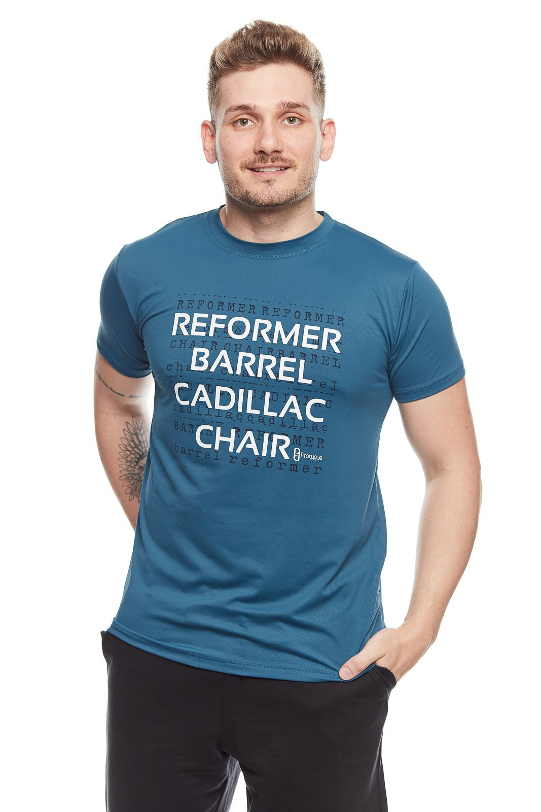 CAMISETA LISBOA - 'REFORMER BARREL CADILLAC CHAIR'