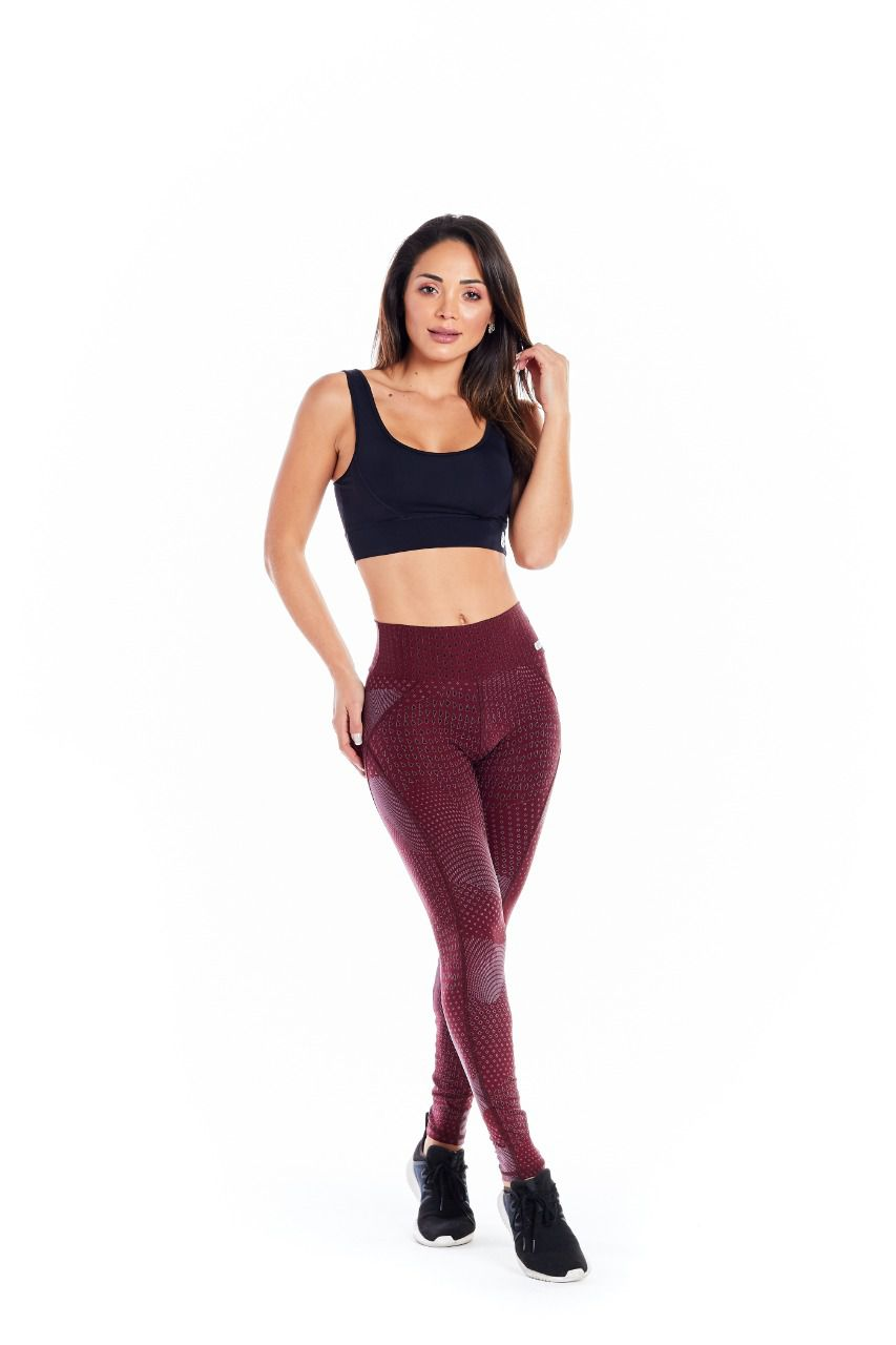 LEGGING GALAXY - BORDO