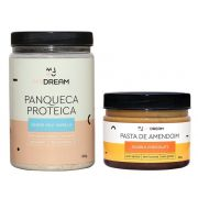 Combo Panqueca Proteica com Pasta