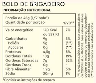 Combo 3 Bolos de Caneca Brigadeiro + Caneca Brinde
