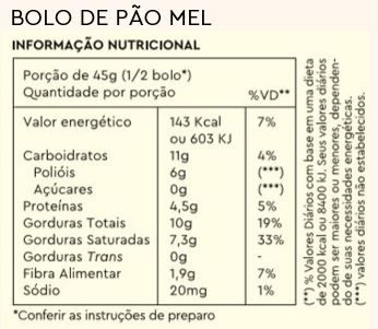 Combo 3 Bolos de Caneca Pão de Mel + Caneca Brinde