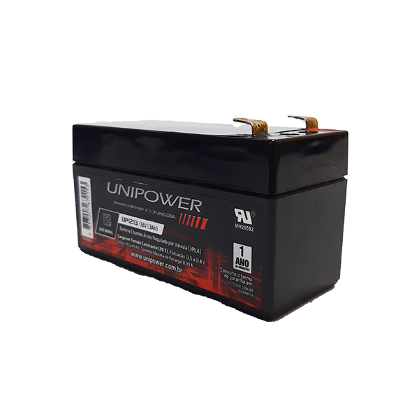 BAT UNIPOWER 12V 1,3AH F187