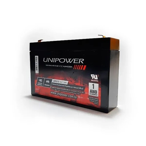 BAT UNIPOWER 6V 7,2AH (UP672)