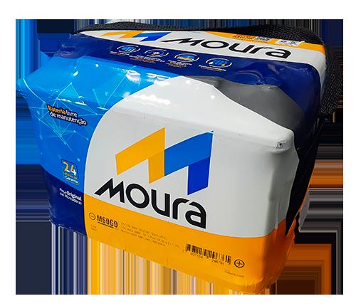 Bateria Moura 60ah - GOL FOX FOCUS