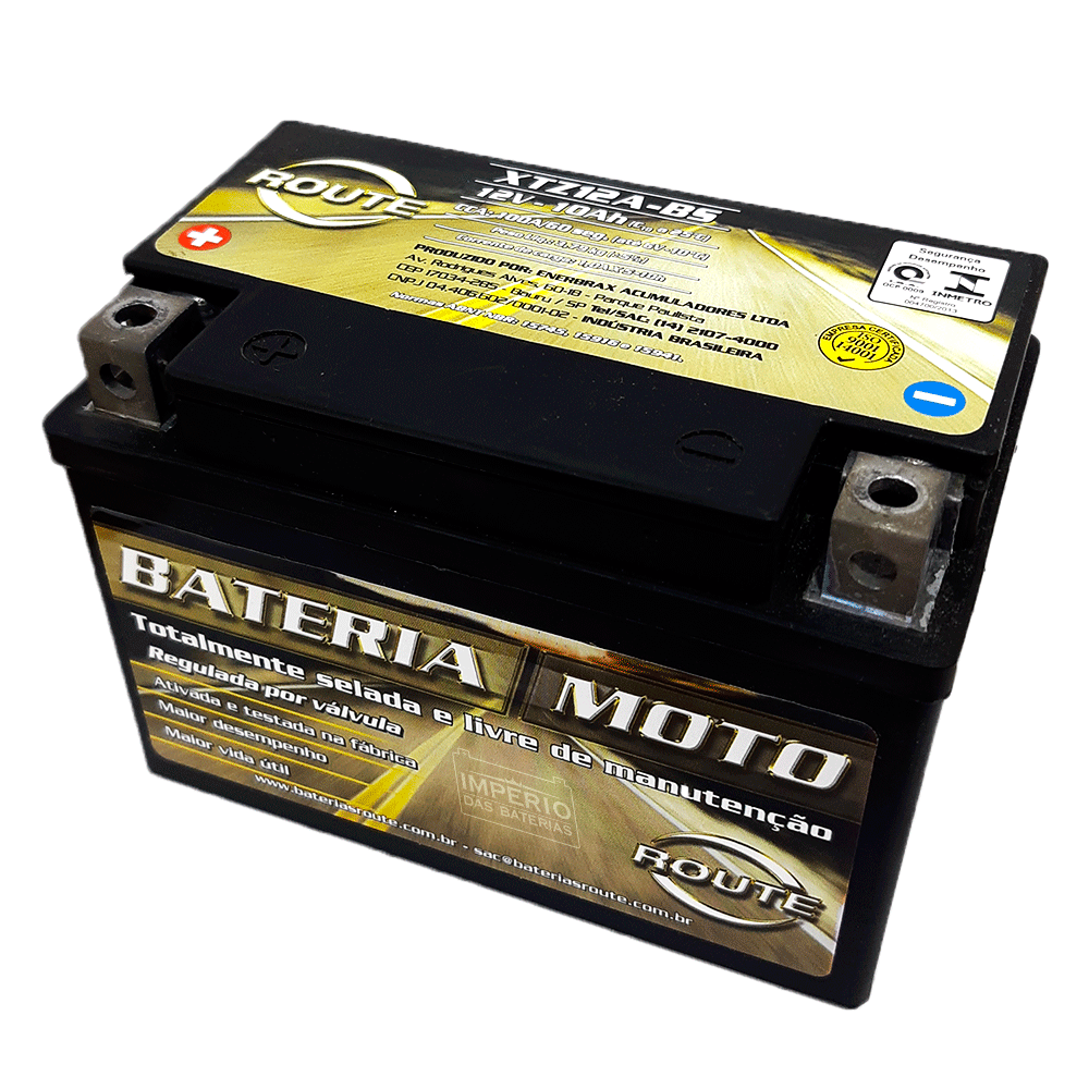 XTZ12ABS BATERIA ROUTE REF.  (YT12ABS