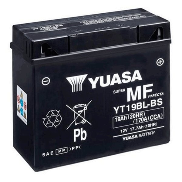 YT19LB - BS (51913) BATERIA MOTOCICLETA YUASA