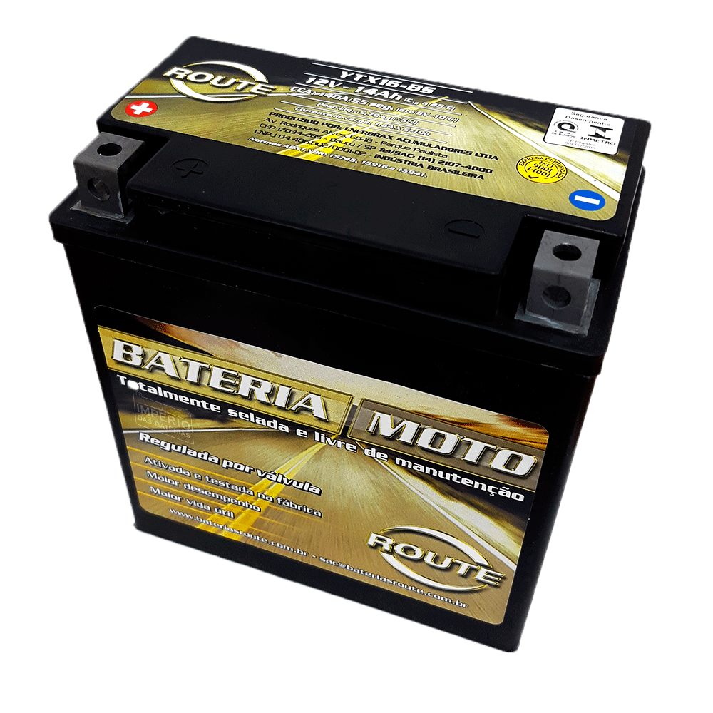 YTX16BS BATERIA ROUTE
