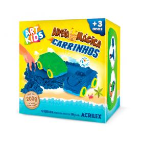 AREIA MÁGICA CARINHOS ACRILEX ART KIDS