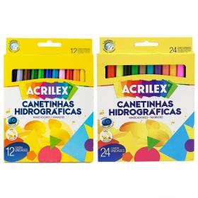 CANETA HIDROGRÁFICA ACRILEX