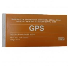 CARNÊ GPS TILIBRA - GUIA DA PREVIDÊNCIA SOCIAL 12X2 VIAS - 24 FOLHAS