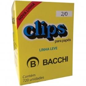 CLIPS METÁLICOS BACCHI Nº 2/0 (00) 720 UN