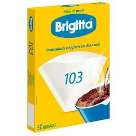 FILTRO DE PAPEL 103 BRIGITTA  - CAIXA COM 30UN