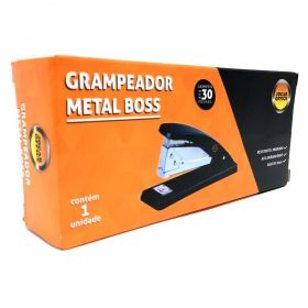 GRAMPEADOR METAL BOSS 30 FOLHAS JOCAR OFFICE