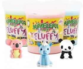 KIMELEKA SLIME FLUFFY ACRILEX ART KIDS -  SORTIDO