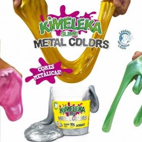 KIMELEKA SLIME METAL COLORS ACRILEX ART KIDS