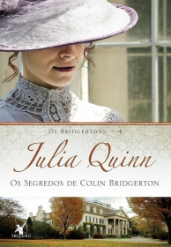 LIVRO BRIDGERTON OS SEGREDOS DE COLIN BRIDGERTON DE JULIA QUINN