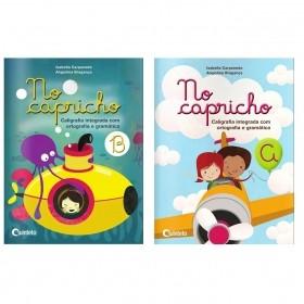 LIVRO INFANTIL NO CAPRICHO E CALIGRAFIA EDITORA QUINTETO