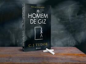 LIVRO O HOMEM DE GIZ DE C.J. TUDOR
