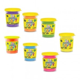 MASSINHA DE MODELAR ACRILEX SOFT ART KIDS 500G