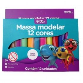 MASSINHA DE MODELAR ONDA 12 CORES