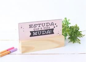 MENSAGEIRO D MESA ESTUDA QUE A VIDA MUDA
