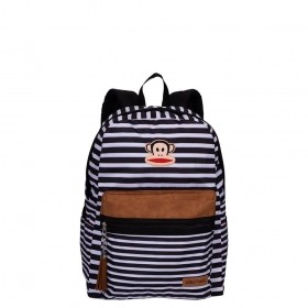 MOCHILA GRANDE PAUL FRANK CUSTOMS LISTRAS