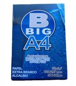 PAPEL SULFITE A4 BIG 500 FOLHAS BRANCO  75G