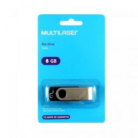 PEN DRIVE MULTILASER 8GB