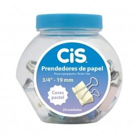 PRENDEDOR METALICO DE PAPEL TONS PASTEL CIS
