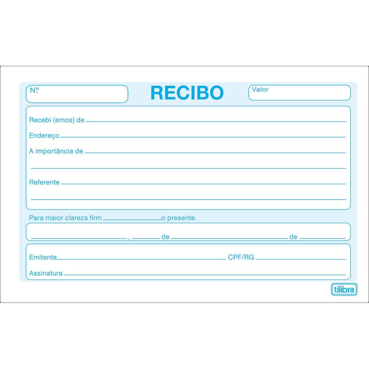 BLOCO COMERCIAL SEM CANHOTO TILIBRA 50 FOLHAS 137mm X 89mm