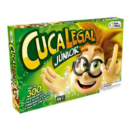 BRINQUEDO CUCA LEGAL JUNIOR