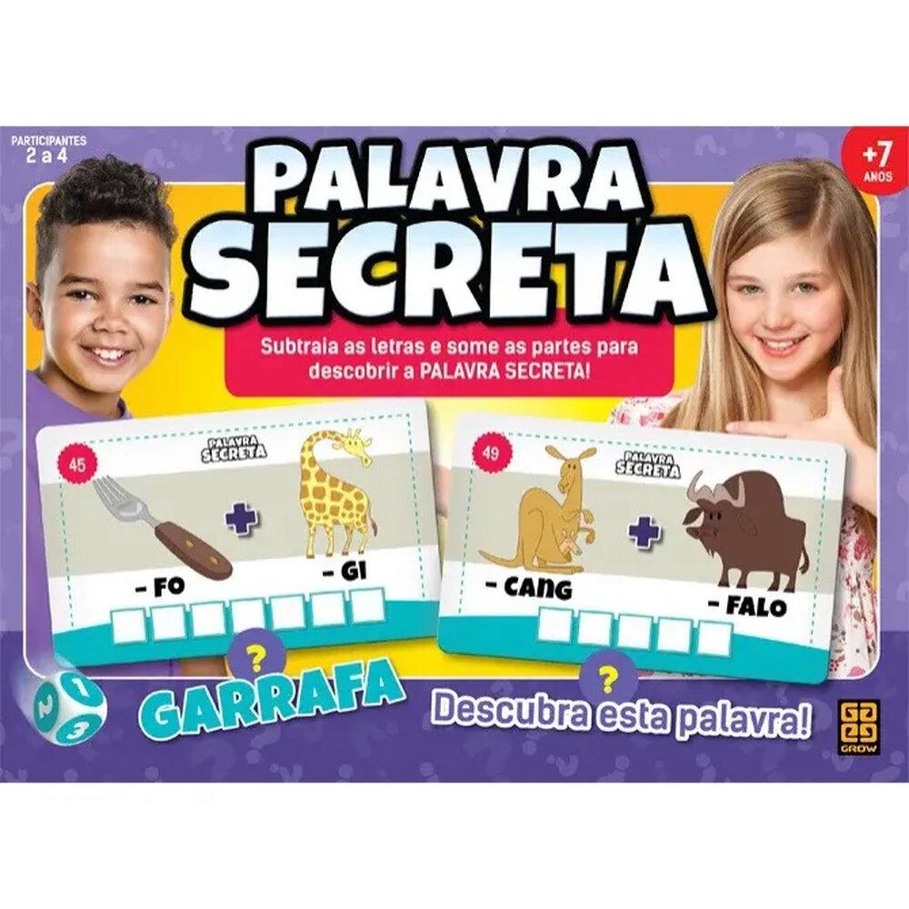 BRINQUEDO PALAVRA SECRETA