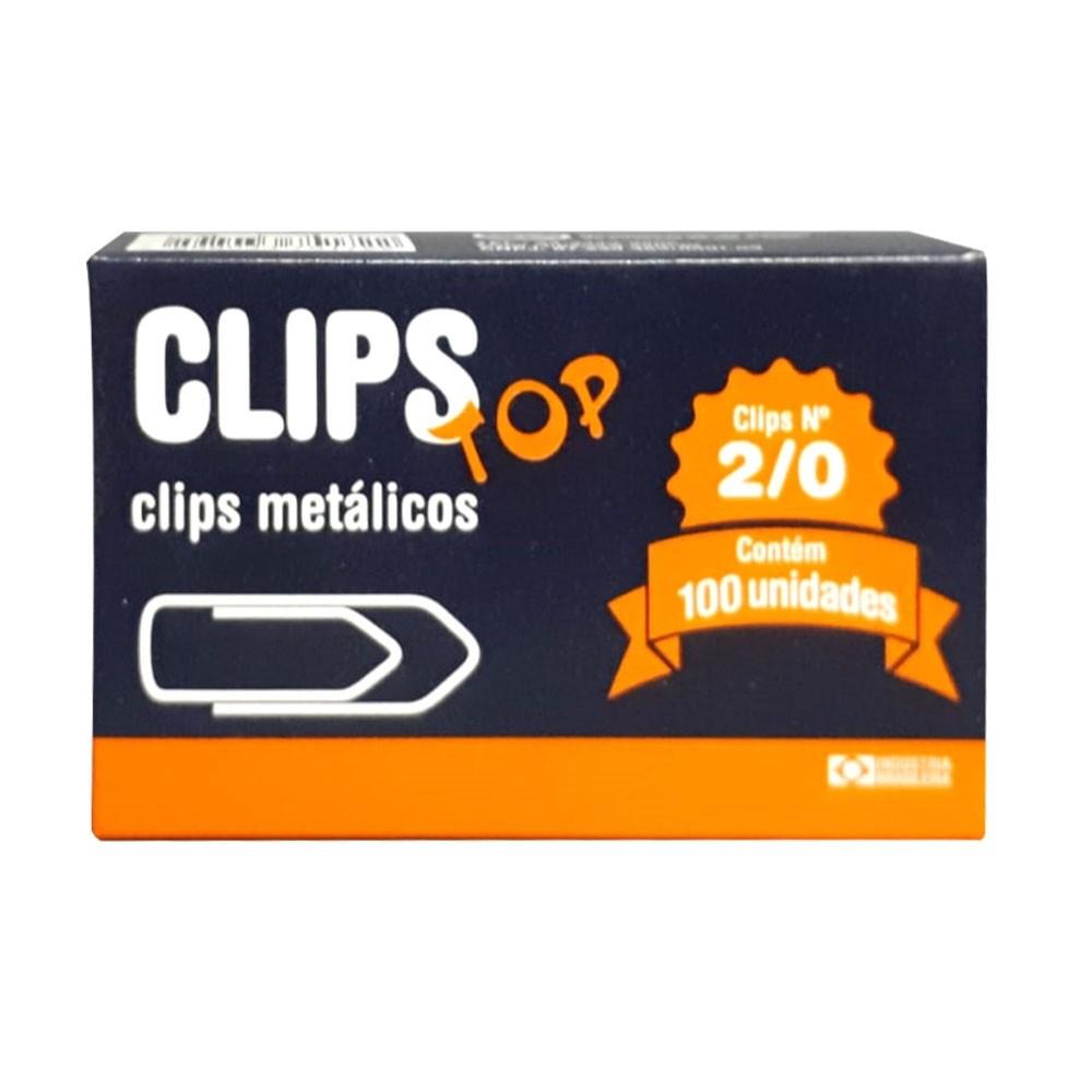 CLIPS METÁLICOS CLIPS TOP Nº 2/0 100 UN