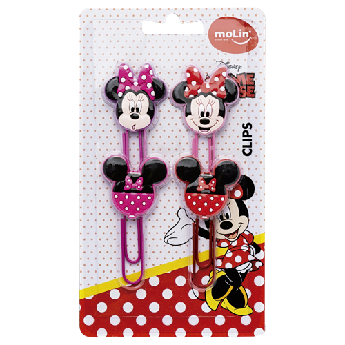 CLIPS MINNIE MOUSE MOLIN 50mm