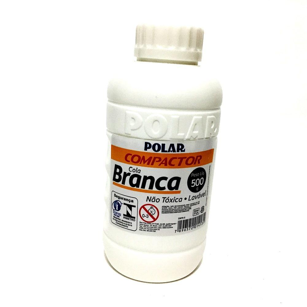 COLA BRANCA COMPACTOR POLAR 500G