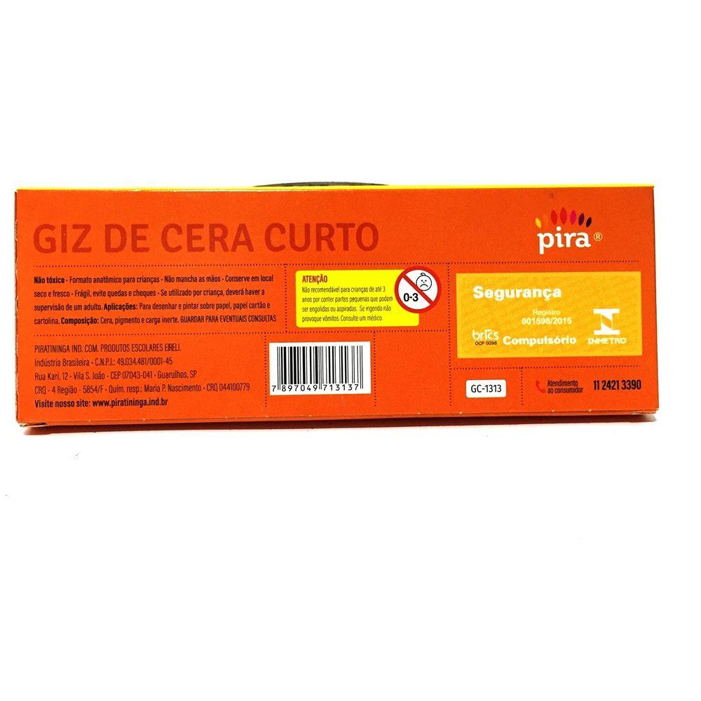 GIZ DE CERA CURTO PIRATININGA 15 CORES