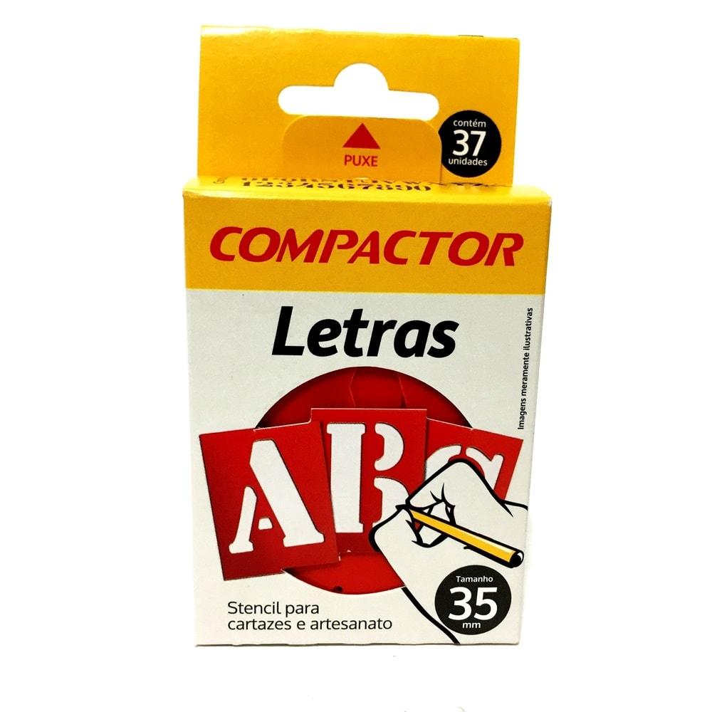 LETRAS VAZADAS ABC COMPACTOR 35MM