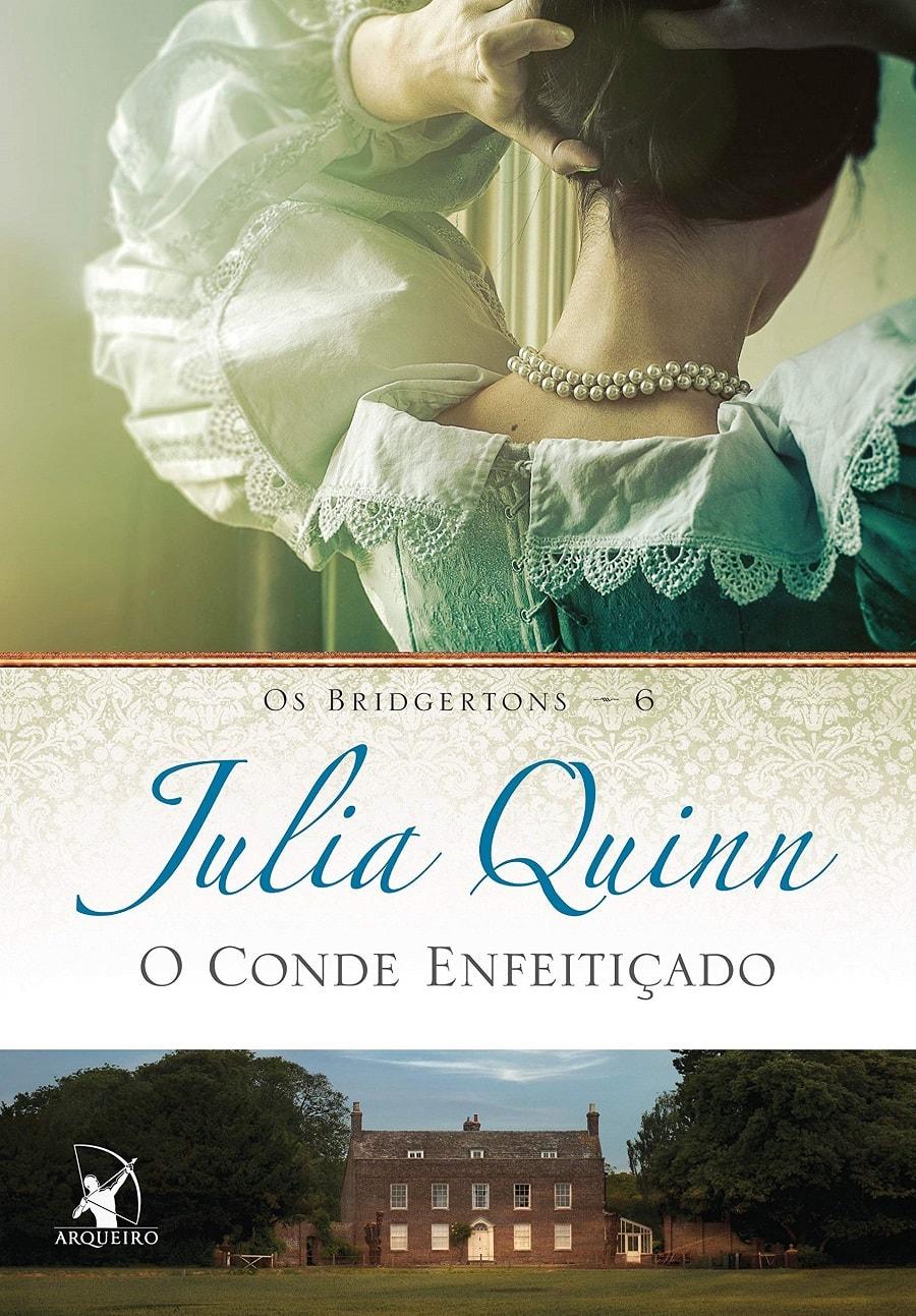 LIVRO BRIDGERTON O CONDE ENFEITIÇADO DE JULIA QUINN