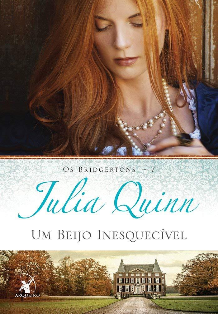 LIVRO BRIDGERTON UM BEIJO INESQUECÍVEL DE JULIA QUINN