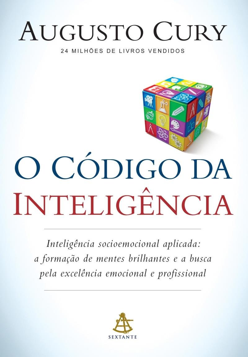 LIVRO O CÓDIGO DA INTELIGÊNCIA DE AUGUSTO CURY
