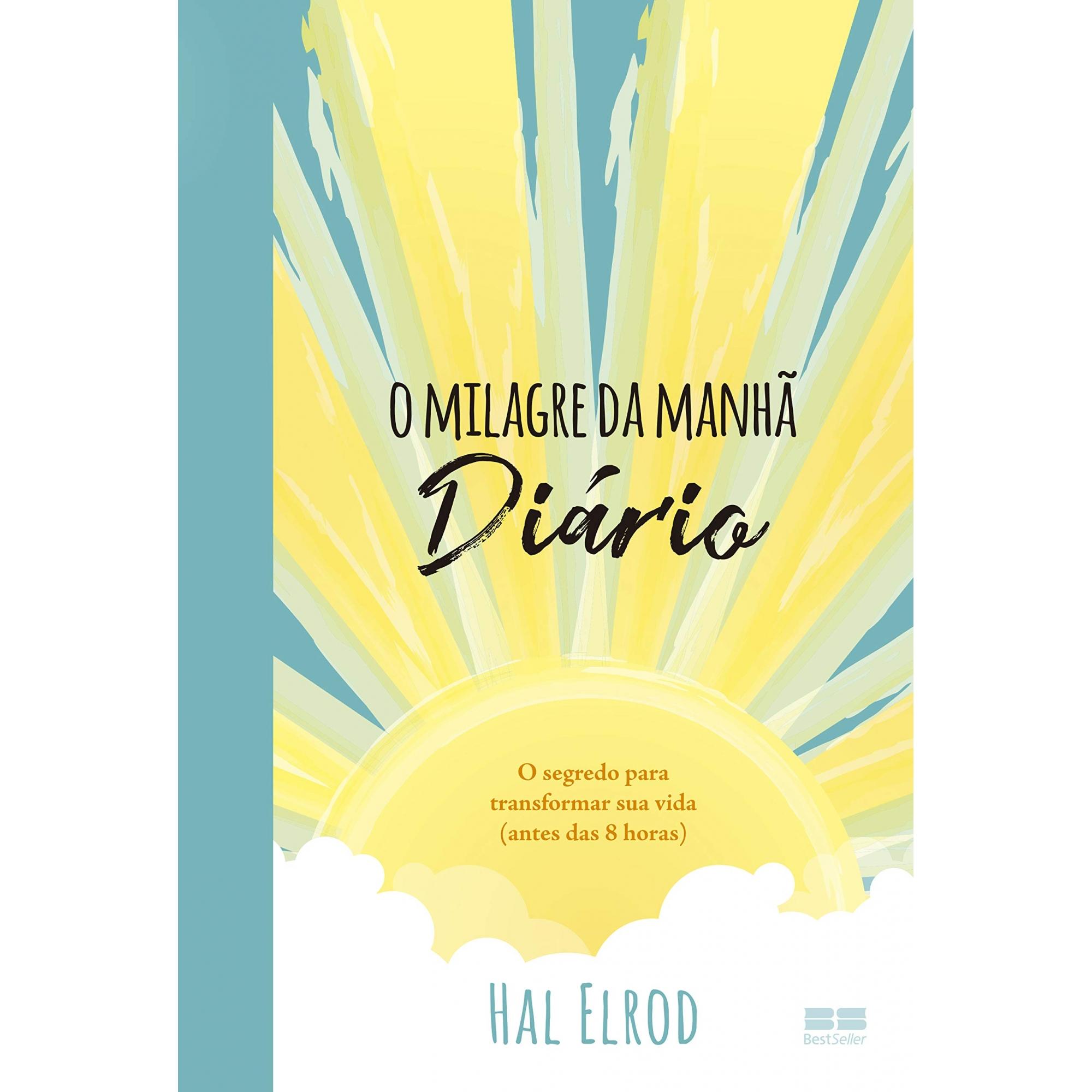LIVRO O MILAGE DA MANHÃ DIÁRIO DE HAL ELRPD