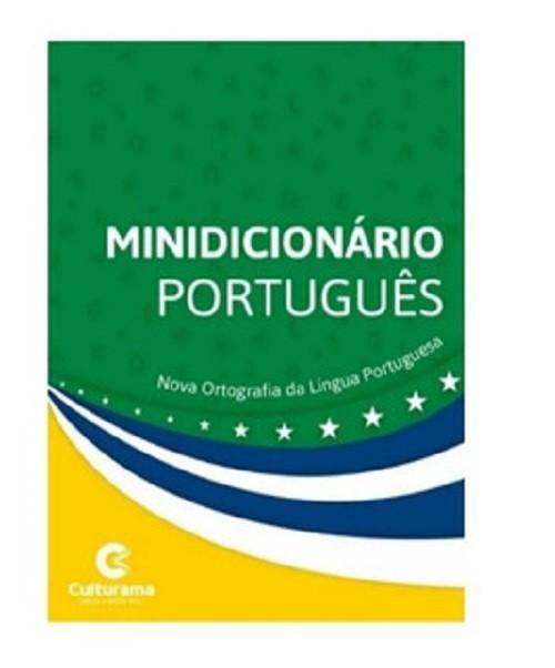 MINÍ DICIONÁRIO ESCOLAR LÍNGUA PORTUGUESA 1° EDIÇÃO