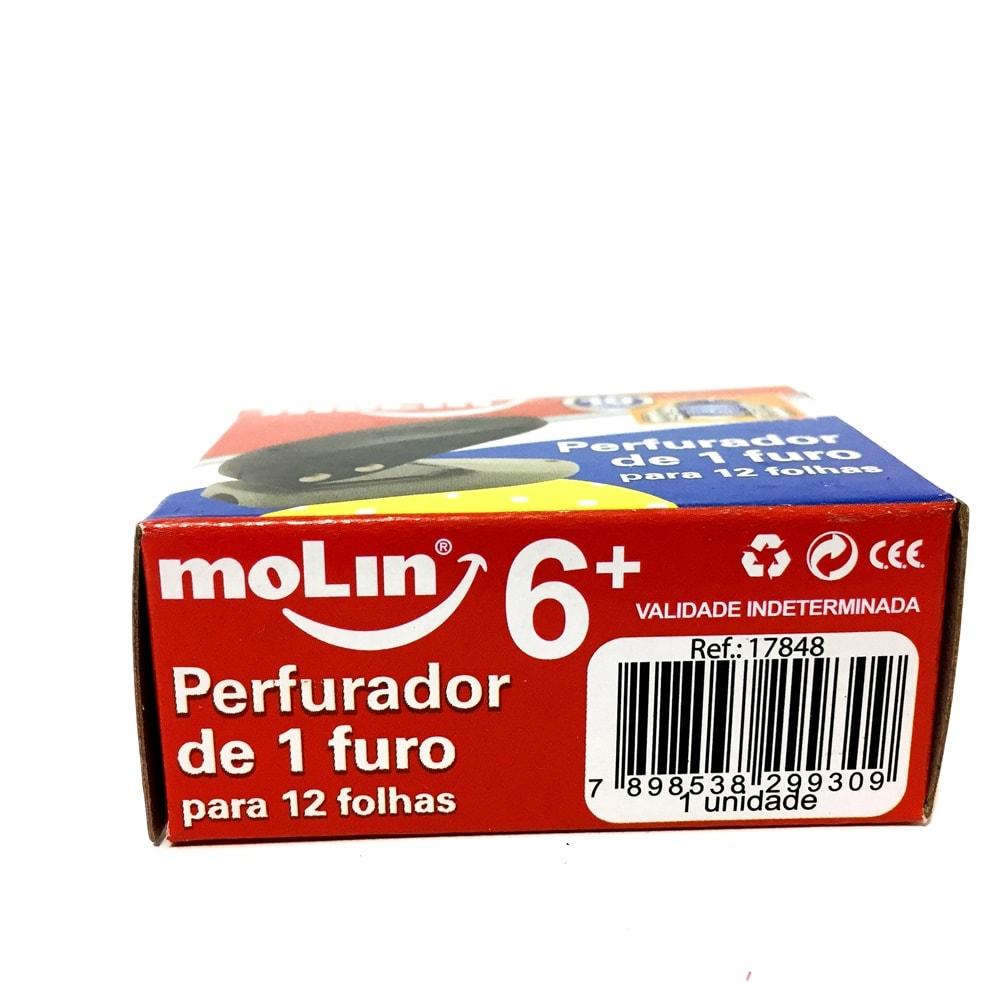 PERFURADOR DE 1 FURO MOLIN