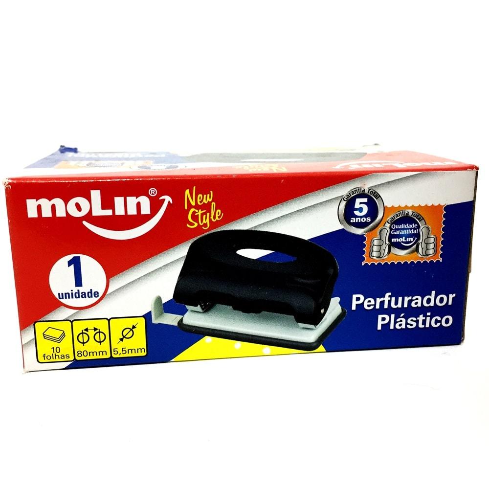PERFURADOR PLÁSTICO DE MESA MOLIN NEW STYLE