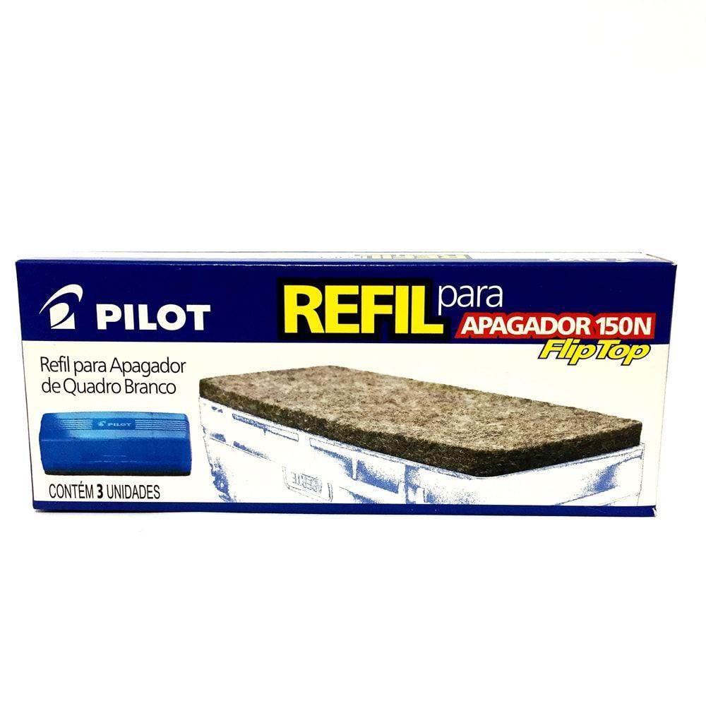 REFIL PARA APAGADOR 150N PILOT CAIXA COM 3UN