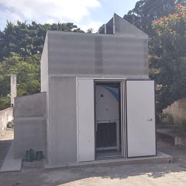 Barreira Acústica Industrial - Isolamento acustico