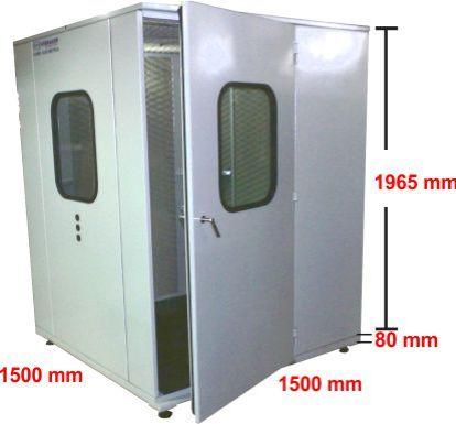 Cabine Acústica VSA 40F - Ensaio
