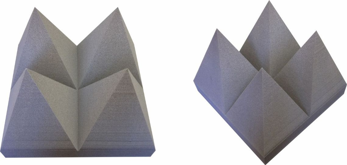Pirâmide Anecóica Acustica Grande