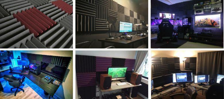 Cunha Acústica Anecóica Média - Kit