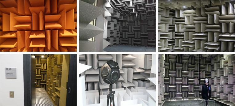 Cunha Acústica Anecóica Pequena - Kit